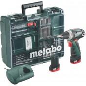Дрель-шуруповерт Metabo PowerMaxx BS Basic Set 600080880