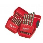 Набор сверел по металлу Thunderweb HSS-G DIN338 (19 шт) MILWAUKEE 4932352374