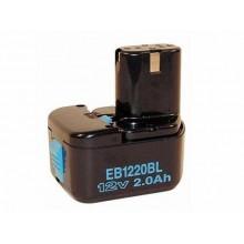Аккумулятор Hitachi EB1220BL (12В 2.0 а/ч)