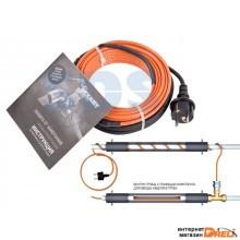 Греющий саморегулир. кабель в трубу 10HTM2-CT (6м/60Вт) (комплект) REXANT (Греющий саморегулирующийся кабель (комплект в трубу) 10HTM2-CT ( 6м/60Вт) R (51-0603)