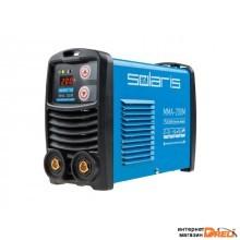 Инвертор сварочный SOLARIS MMA-200M (230В; 20-200 А; 70В; электроды диам. 1.6-4.0 мм; вес 3.1 кг)