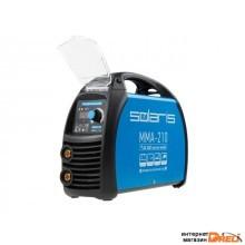 Инвертор сварочный SOLARIS MMA-210 (230В; 20-210 А; 70В; электроды диам. 1.6-4.0 мм; вес 3.8 кг)