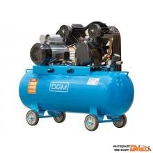 Компрессор DGM AC-2100 (380 л/мин, 8 атм, ременной, масляный, ресив. 100 л, 220 В, 2.20 кВт)