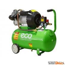 Компрессор ECO AE-502-1 (440 л/мин, 8 атм, коаксиальный, масляный, ресив. 50 л, 220 В, 2.20 кВт) -5%