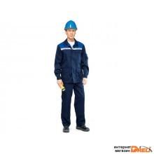 Костюм (куртка+брюки) Стандарт-1 р.56-58 рост 182-188 (летний) (р.56-58 рост 182-188)
