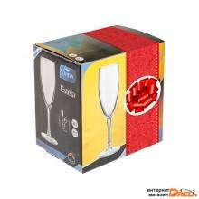 Набор бокалов для шампанского, 6 шт., 170 мл, 196х54.5 мм, серия Estela, VINTIA (V012040/1)