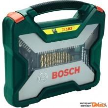 Набор оснастки Bosch X-Line Titanium (2607019331) 103 предмета