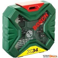 Набор торцевых головок и бит Bosch X-Line Classic (2607010608) 34 предмета