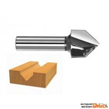 Пазовая фреза 2- ножа, d 16/8мм (BOSCH) (2608628407)