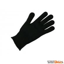 Перчатки х/б трикотажные 10 класс (чёрные) РБ