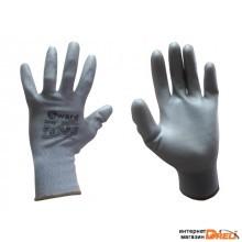 Перчатки нейлон полиуретан. неполн. покрытие 13кл (PU1001Gray)