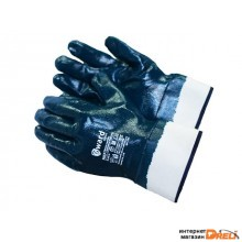 Перчатки нитриловые полн. покрытие (манжет крага) 11р (2204)