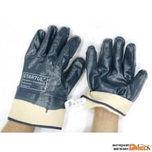 Перчатки нитриловые полн. покрытие (манжет крага) размер №10 STARTUL (ST7171)