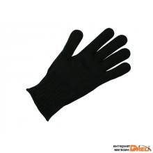 Перчатки п/шерстяные черные 7 класс