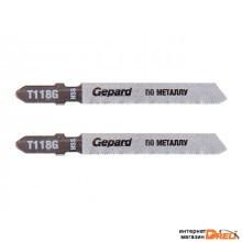 Пилка лобз. по металлу T118G (2шт.) GEPARD (GP0608-19)
