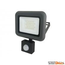 Прожектор светодиодный 20 Вт PFL- C-new Sensor 6500К, IP54, 190-260В, JAZZWAY (1700Лм) (5001459A)