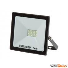 Прожектор светодиодный 30 Вт 6500K IP64 ЮПИТЕР (2400 лм, холодный белый свет) (JP1201-30)