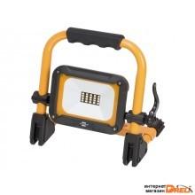 Прожектор светодиодный мобильный аккумуляторный 10 Вт 6500К IP54, JARO Brennenstuhl (1000Лм, холодный белый свет) (1171250135)