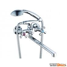 Смеситель для ванны с плоск. изливом, QSL7-A827 G.Lauf (Смеситель латунный, Гарантия 5 лет)