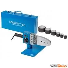 Сварочный аппарат для полимерных труб Solaris PW-1001 (1000 Вт; 6 насадок: 20, 25, 32, 40, 50, 63 мм)