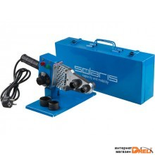 Сварочный аппарат для полимерных труб Solaris PW-601 (600 Вт, 3 насадки: 20мм, 25мм, 32мм)