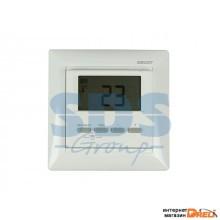 Терморегулятор цифровой RX-511H белый REXANT (Терморегулятор цифровой RX-511H белый REXANT (совместим с Legrand серии Valena)) (51-0566)