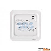 Терморегулятор механич. с датчиком температуры пола; белый R70XT REXANT (Терморегулятор механический с датчиком температуры пола (R70XT) белый REXANT) (51-0531)