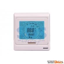 Терморегулятор сенсорный с автоматическим программированием R91XT белый REXANT (Терморегулятор сенсорный с автоматическим программированием (R91XT) RE (51-0533)