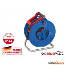 Удлинитель на катушке 40м (3 роз., 5.5кВт, резин. кабель, с/з) Brennenstuhl Garant (5,5кВт - макс. мощ.; 3,3кВт - номин. мощ.; 3х2,5мм2; степень защит (1208340)