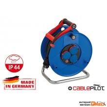 Удлинитель на катушке 50м (3 роз., 3.3кВт, резин. кабель, с/з) Brennenstuhl Garant (3,3кВт; 3х1,5мм2; степень защиты: IP44) (1208230)