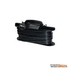 Удлинитель-шнур на рамке 30м (1 роз., 3.7кВт, с/з, ПВС 3х1,5) Bylectrica (Удлинитель-шнур на рамке 30м  одноместный с заземляющим контактом 16 А) (У16-319 30м)