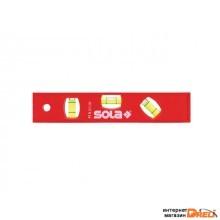 Уровень 200мм 3 глазка пластм. магн. РТM 5 20 (SOLA) (01430620)