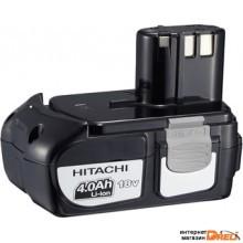 Аккумулятор Hitachi BCL1840 (18В/4 Ah)