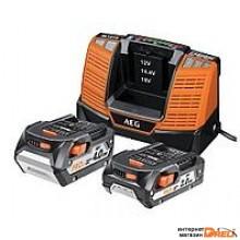 Аккумулятор с зарядным устройством AEG Powertools SET LL1850BL 4932464019 (18В/5 Ah + 12-18В)