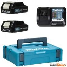 Аккумулятор с зарядным устройством Makita BL1016 + DC10SB (12В/1.5 Ah + 10.8-12В)
