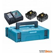 Аккумулятор с зарядным устройством Makita BL1840B + DC18RC (18В/4.0 а*ч + 18В)