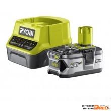 Аккумулятор с зарядным устройством Ryobi RC18120-140 ONE+ 5133003360 (18В/4.0 Ah + 18В)