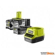 Аккумулятор с зарядным устройством Ryobi RC18120-242 5133003365 (18В/4 Ah + 18В/2 Ah + 18В)