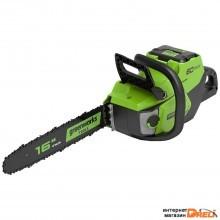 Аккумуляторная пила Greenworks GD60CS40 (без АКБ)