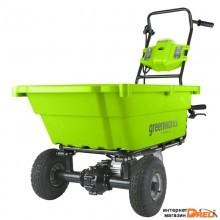 Аккумуляторная садовая тележка GreenWorks G40GC 40В G-MAX 7400007