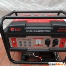 Бензиновый генератор Edon PT-RWD6000A