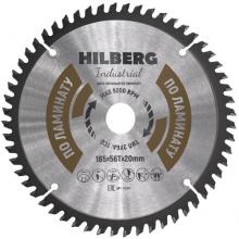 Диск пильный Hilberg Industrial ЛАМИНАТ 165*56Т*20 mm HL165