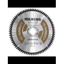 Диск пильный Hilberg Industrial ЛАМИНАТ 230*80Т*30 mm HL230