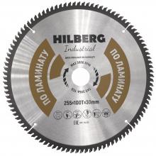 Диск пильный Hilberg Industrial ЛАМИНАТ 250*100Т*30 mm HL250