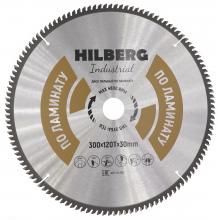 Диск пильный Hilberg Industrial ЛАМИНАТ 300*120Т*30 mm HL300