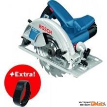 Дисковая пила Bosch GKS 190 Professional 0615990K3V (с фитнес-браслетом)