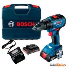 Дрель-шуруповерт Bosch GSR 18V-50 Professional 06019H5000 (с 2-мя АКБ, кейс)