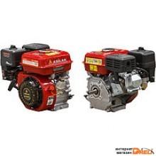 Двигатель 6.5 л.с. бензиновый (цилиндрический вал диам. 19 мм.) (Макс. мощность: 6.5 л.с; Цилиндр. вал д.19 мм.) (ASILAK) (SL-168F-D19)