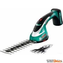 Кусторез + ножницы Bosch ASB 10.8 LI Set 0600856302 (с АКБ)