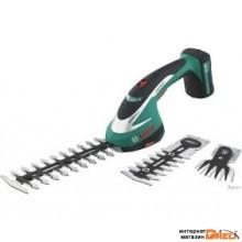 Кусторез + ножницы с дополнительным полотном Bosch ASB 10,8 LI Set [0600856301]